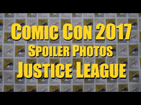 Comic Con 2017 - Justice League Photos & Hall H Lines