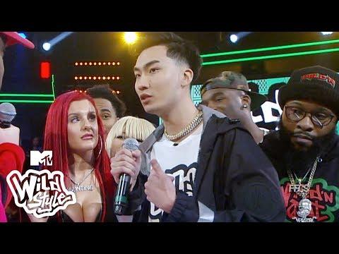Conceited & Charron Take Down RiceGum 😂 ft. TK Kravitz | Wild 'N Out | #Wildstyle
