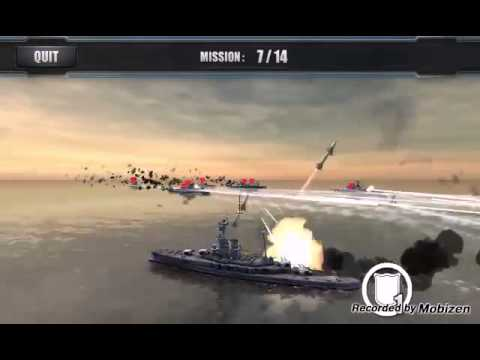 Gameplay - World Warships Combat - Juegos Android - 2015
