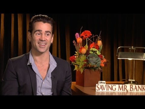 Colin Farrell on playing P. L. Travers' father in 'Saving Mr  Banks'