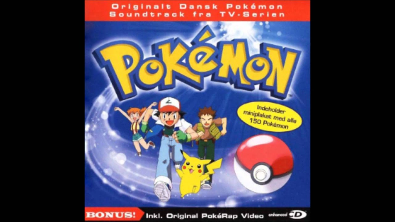 pokemon soundtrack dansk