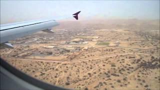 Landing in Muscat, Oman