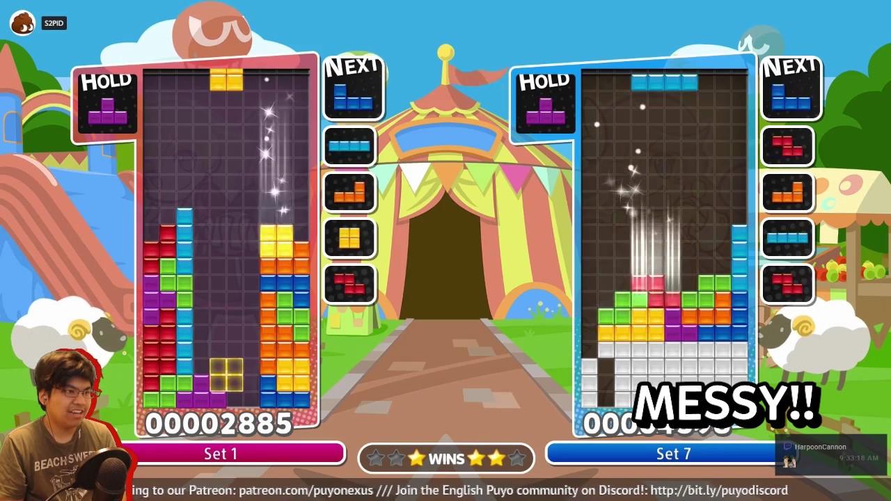 Puyo Puyo Tetris - 4 Wide RNG Meta