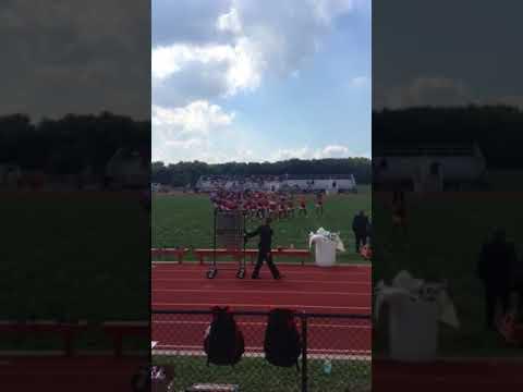 Penns Grove High School 2017 Cheer halftime