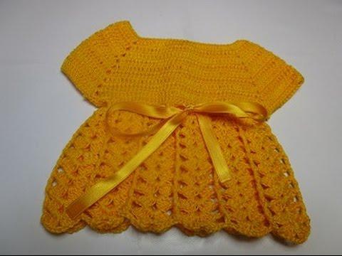 Uncinetto Crochet Mini Cardigan Giacchina Maglia Vestitino Abitino