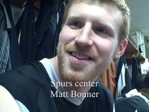 NBA Life: Matt Bonner, Spurs vs. New York Knicks, Feb. 17, 2009