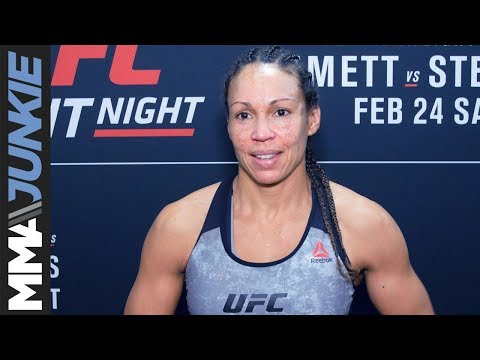 UFC on FOX 28: Marion Reneau post-fight interview