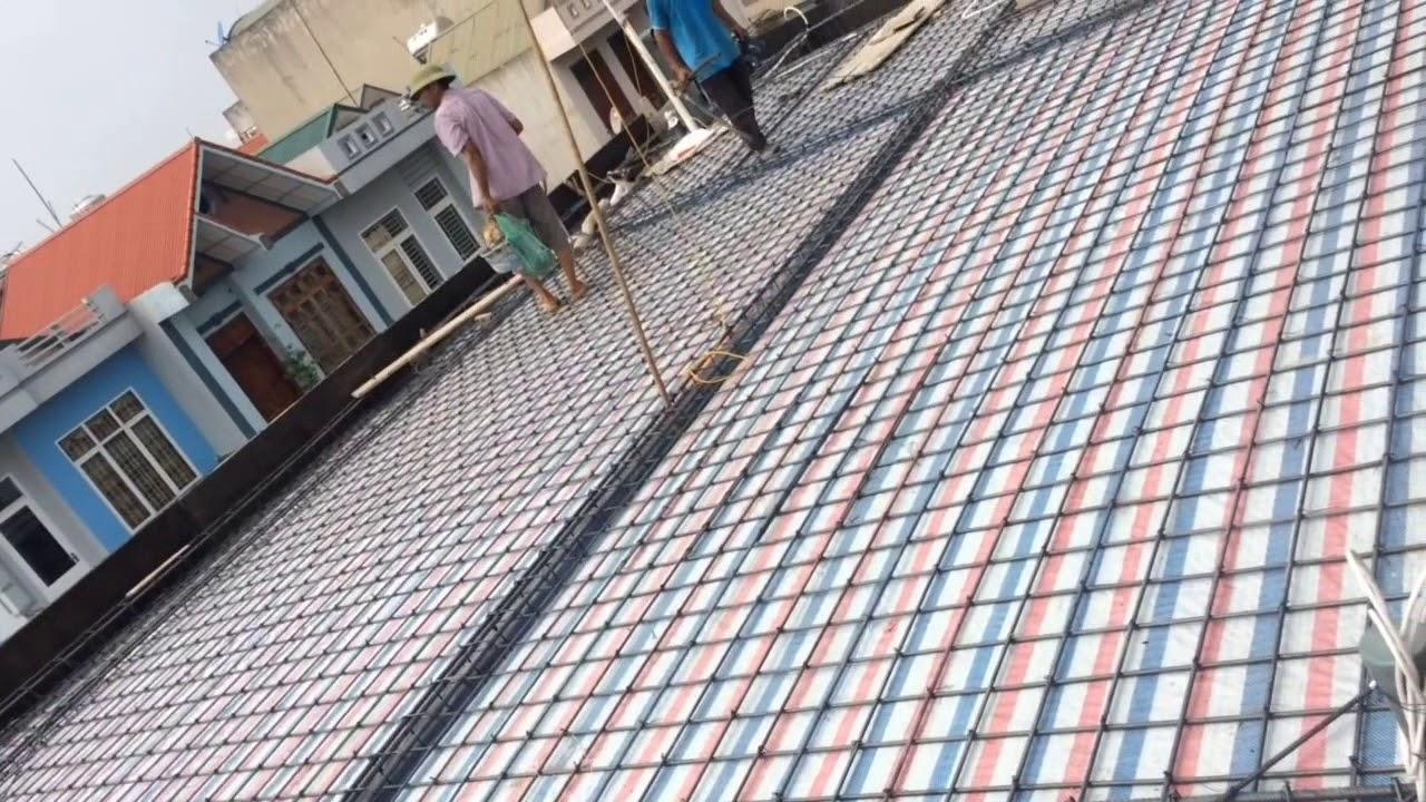 Kết cấu thép sàn thượng đan 1 lớp