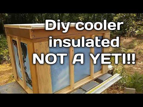 Diy cooler box homemade not a yeti!!