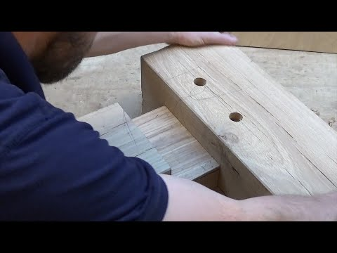 Timber Framing Mortise Tenon