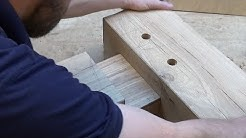 Timber Framing Mortise & Tenon