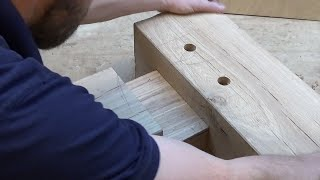 Timber Framing Mortise & Tenon