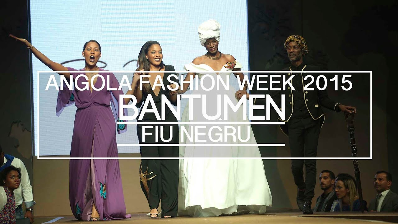 Angola Fashion Week 2015 : Fiu Negru