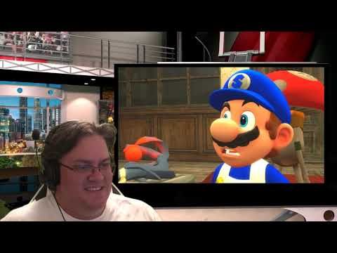 Great Game Potential Here, Resident Evil Mario Reaction
