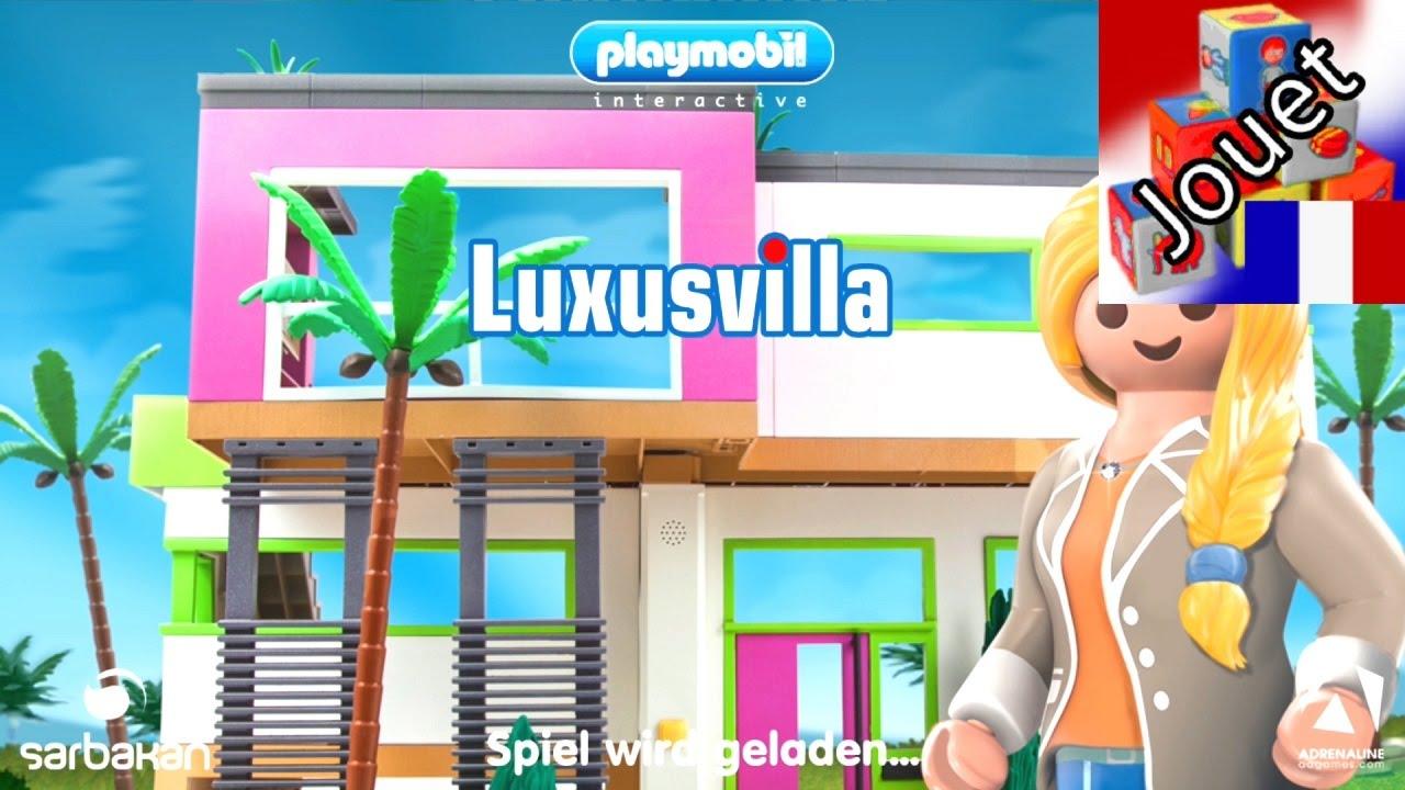 Villa de luxe playmobil jeu sur smartphone am nageons - Toutes les maisons playmobil ...