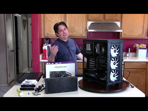 Corsair Crystal 460X with NZXT Kraken x62 - Get Involved!