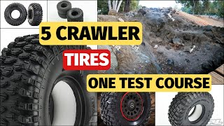Best RC Crawler Tires - Proline Hyrax KM3 Canyon Trail - Part 1 Test