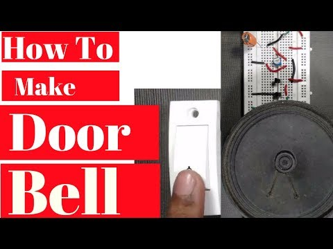 how to make a calling bell at home | Make a musical doorbell