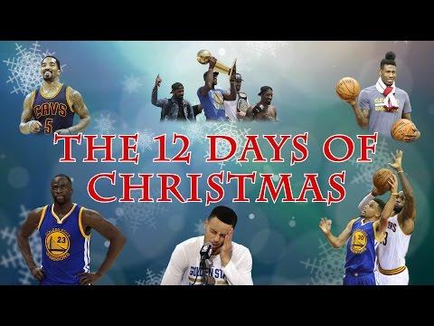 The 12 Days of NBA Christmas - Cavs vs. Warriors Edition