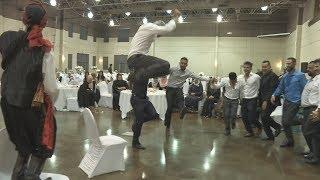 من اجمل دبكات لبنانية في كندا شاهد فوق 45 دقيقة Dabke Master Nazeh Wedding Lebanese Dabke