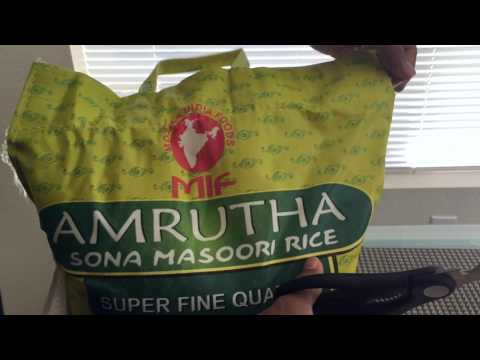 Easy way to take the thread out of a sack (Rice bag) - no cutting