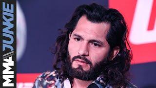 UFC London: Jorge Masvidal media day interview.