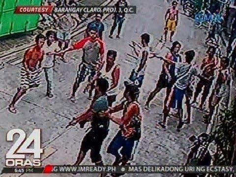 24 Oras: Pulis na nagpaputok ng baril, kapatid na guwardiya at 2 nakaalitan, arestado