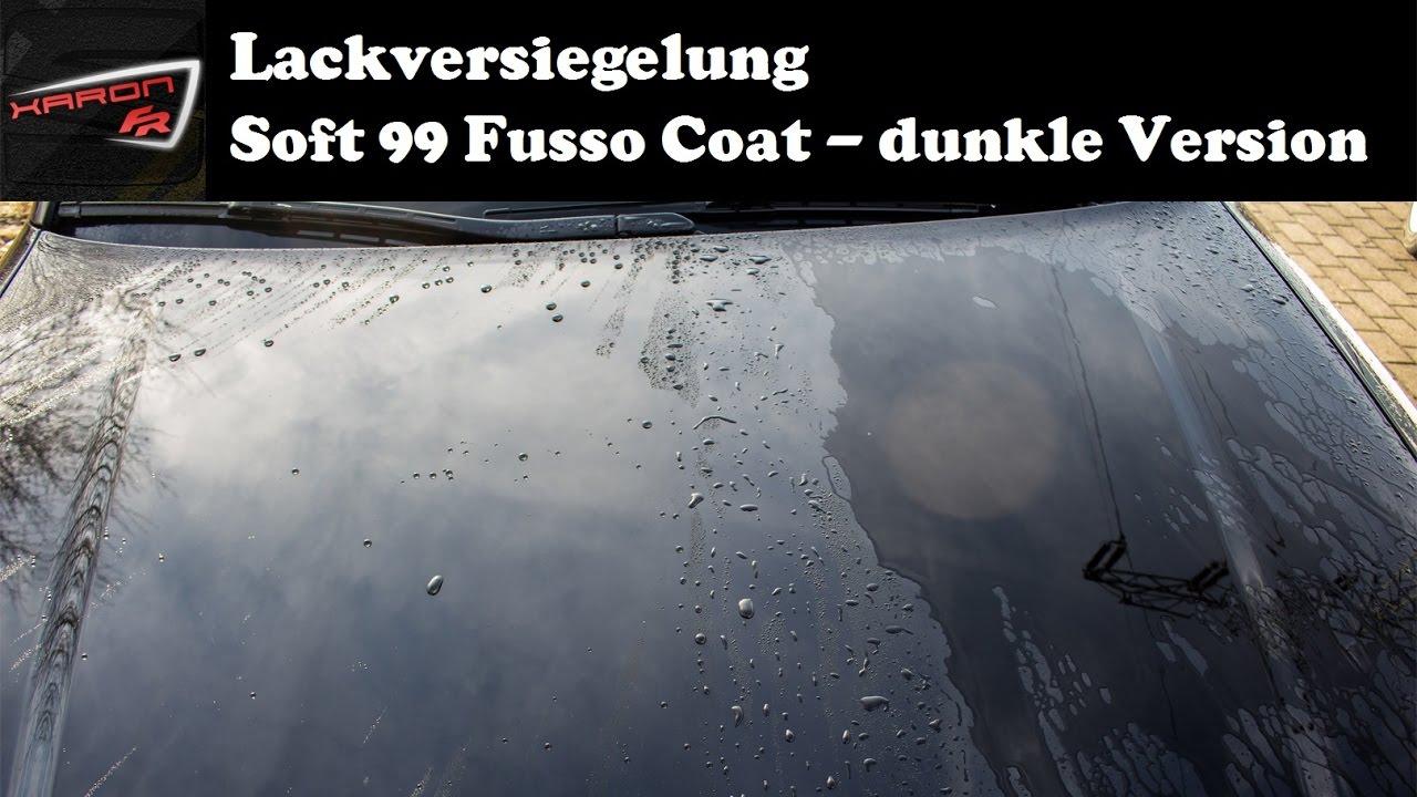 soft99 fusso coat 12m autowachs f r dunklen autolack youtube. Black Bedroom Furniture Sets. Home Design Ideas