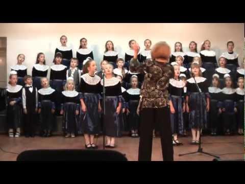 "1 класс  хора ""КАНТИЛЕНА"".  Клятва посвящения в хор .mpg"