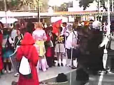 Fila de cosplay AF2008
