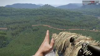 Снайпер диверсант во Вьетнаме сеет панику и ужас