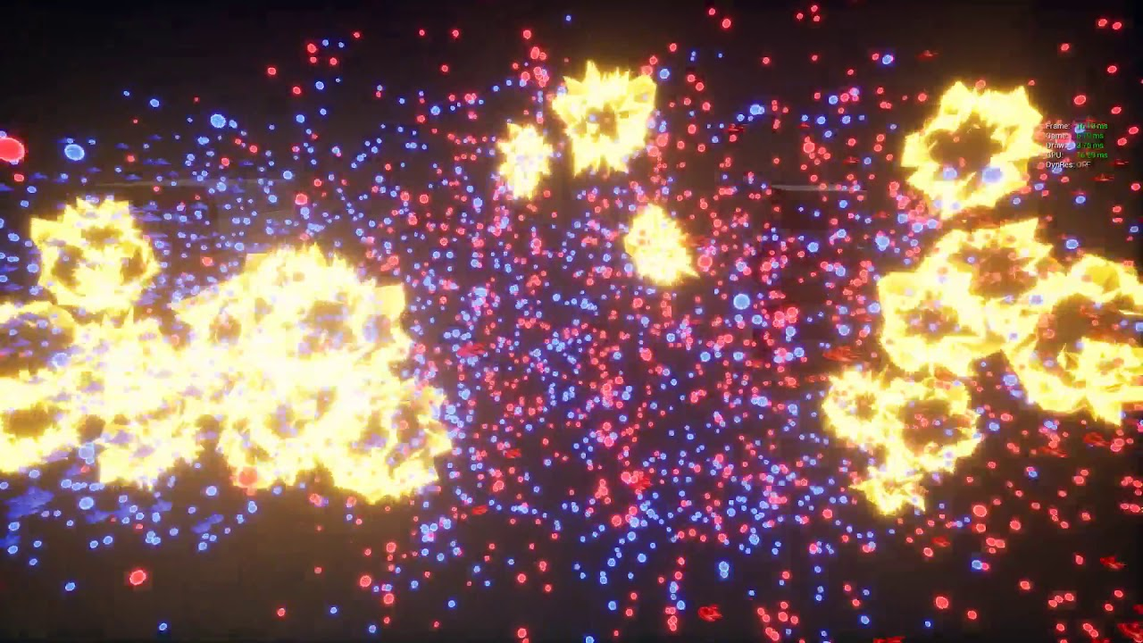 Implementing ECS architecture in UE4  Giant space battle