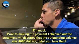 Call center conversation 19 (Credit card maxed out)