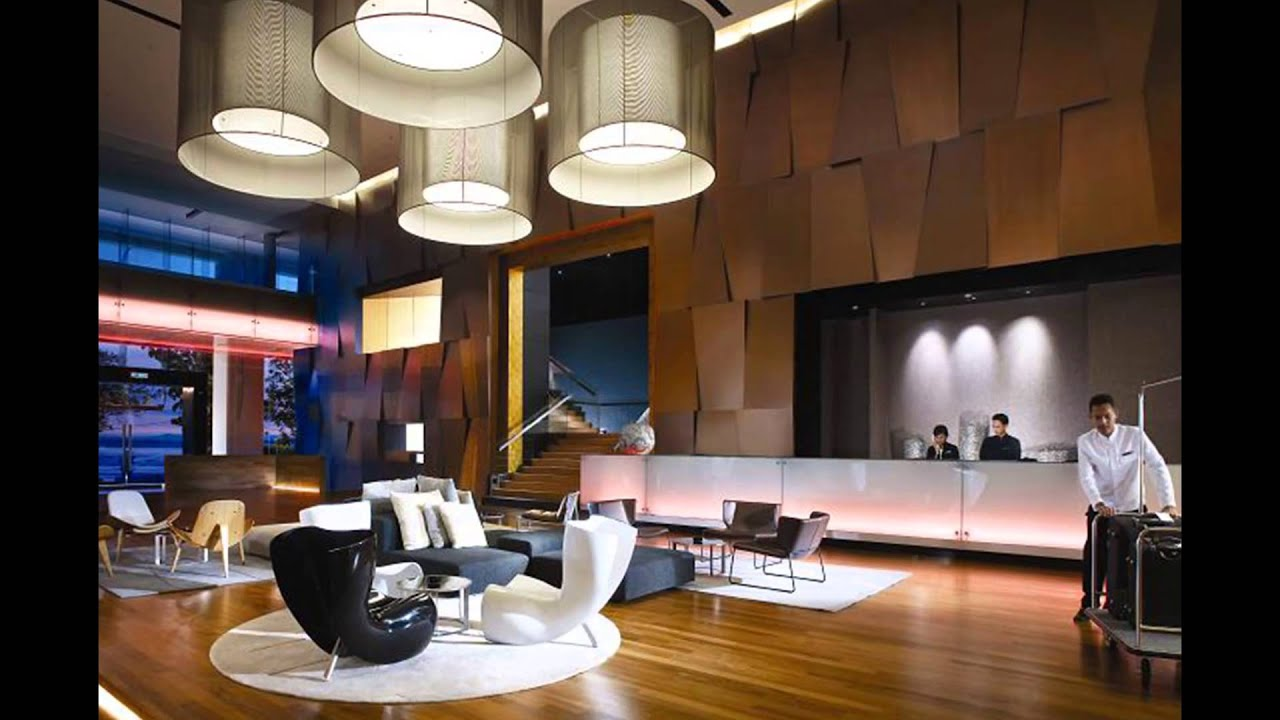 best modern hotel lobby designs with stylish interior decoration