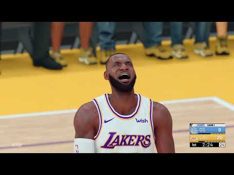 LeBron James Runs Into The Unstoppable GS Warriors In 2019 Western Conference Finals
