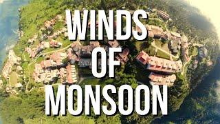 Most Beautiful Engineering College of India | GBPIET Pauri  | Wind of Monsoon | Bird Eye Drone View