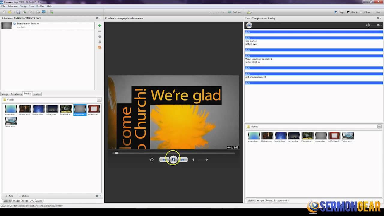 Thecreativepastor. Com free announcement slide template for.