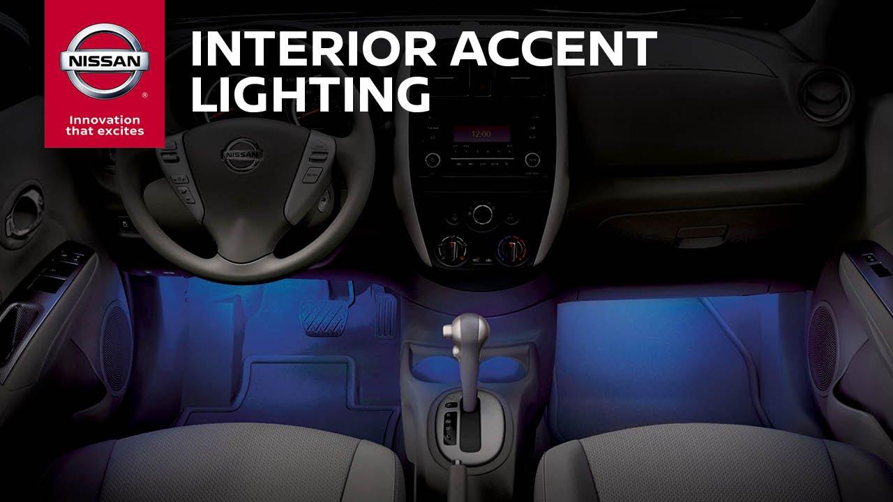 interior accent lighting genuine nissan accessories