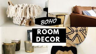 Easy Boho Room Decor DIYs ! Affordable Room Decor On A Budget (Anthropologie Inspired )