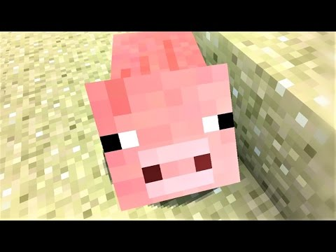 """Minecraft Song and Minecraft Animation """"Little Piggy"""" Minecraft Song by Minecraft Jams"""