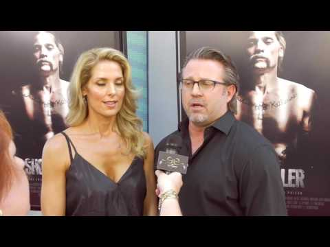 2017 Los Angeles Film Festival  Carpet Chat with Ric Roman Waugh