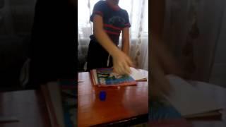 Делаем сумку-папку из картона и цветной бумаги