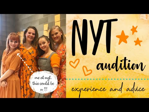 National Youth Theatre Audition 2018