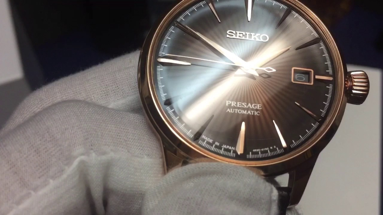Review of the Seiko Presage SRPB46