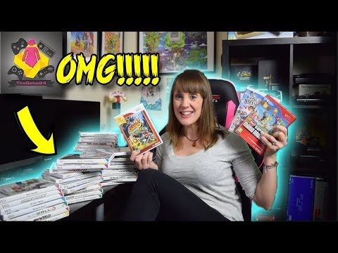 44 Nintendo Wii Games PLUS Blue Wii Console from a Subscriber! AMAZING WII GAMES | TheGebs24