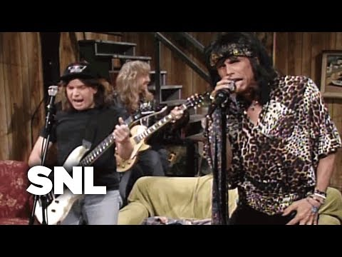 Wayne's World: Aerosmith - SNL