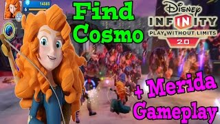 Disney Infinity 2.0 Toy Box Find Cosmo (Merida Gameplay And Skill Tree)