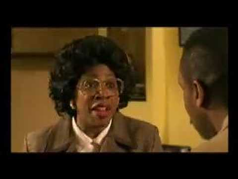 Mrs.Omokorede The Pushy Mum from the Lenny Henry Show UK