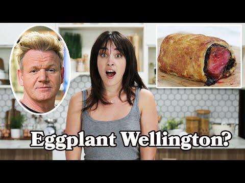 I Made Beef Wellington Out Of Eggplant