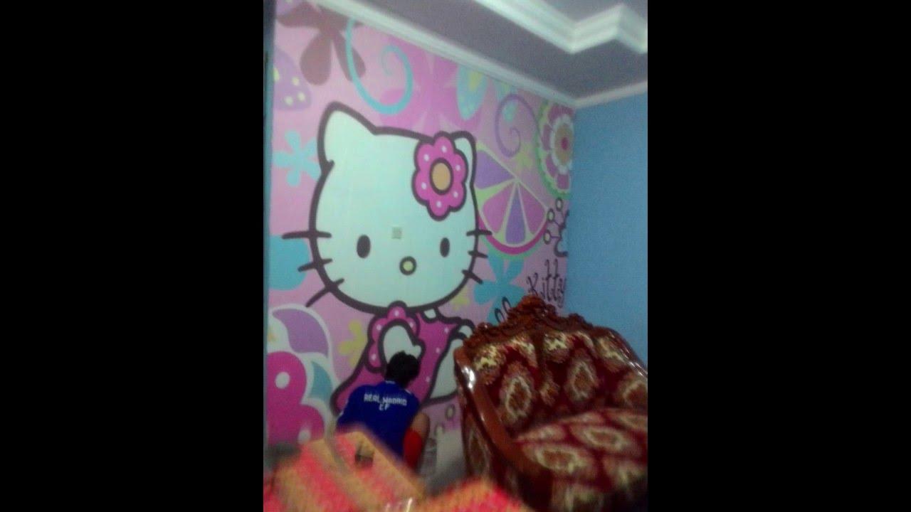 Cara mudah pasang wallpaper dinding youtube - Cara pasang wallpaper ...